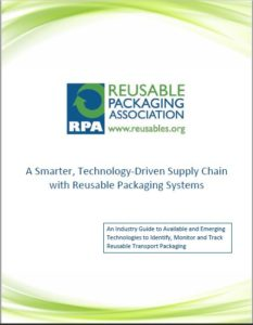 Reusable transport packaging asset tracking technologies white paper
