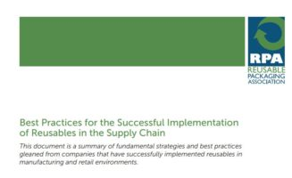 Best Practices for the Successful Implementation of Reusables in the Supply Chain